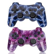 Bevigac Draagbare Draadloze Bluetooth Dubbele Shock Controller Gamepad Joystick voor Sony PlayStation PS 2 3 PS3 PS2 Accessoires