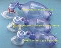 Ressuscitador Manual com Saco Reservatório de Oxigênio Tubos De PVC Descartável máscara Facial Caso Para Adultos ou Pediátricos