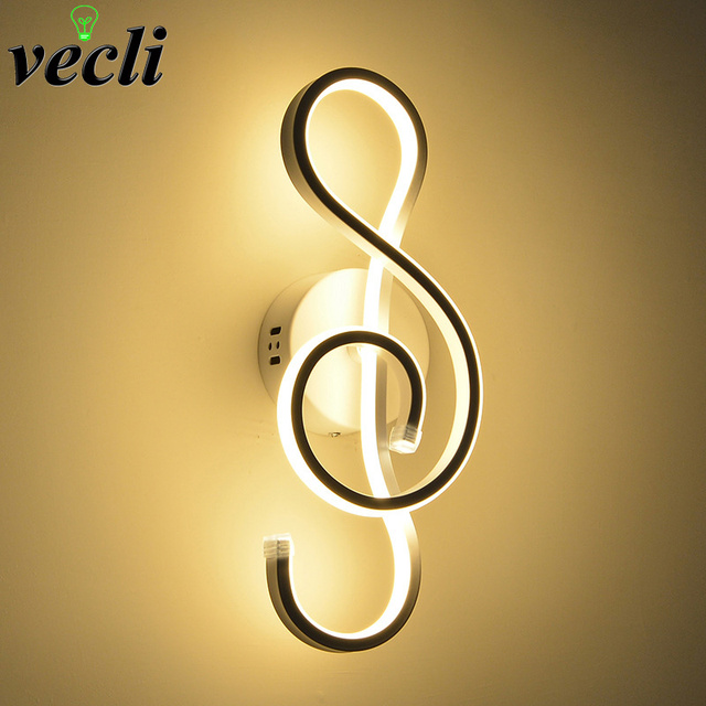 LED Wall Lamp Modern Bedroom Beside Reading Wall Light 22W Indoor Living Room Corridor Hotel Room Lighting Decoration bra