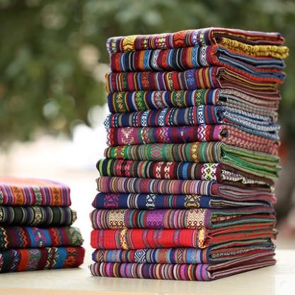 Ethnic print fabric african fabrics tela algodon patchwork - Telas para sofa ...