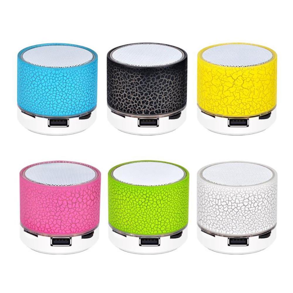 Bluetooth Speaker Mini Wireless Loudspeaker Crack TF Card USB Subwoofer bluetooth Speakers mp3 Stereo Audio Music Player