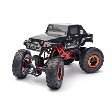 HSP Rc Car 4wd Electric Power Crawler 94680 KULAK 1/18  Off Road Climbing Remote Control Car (black)