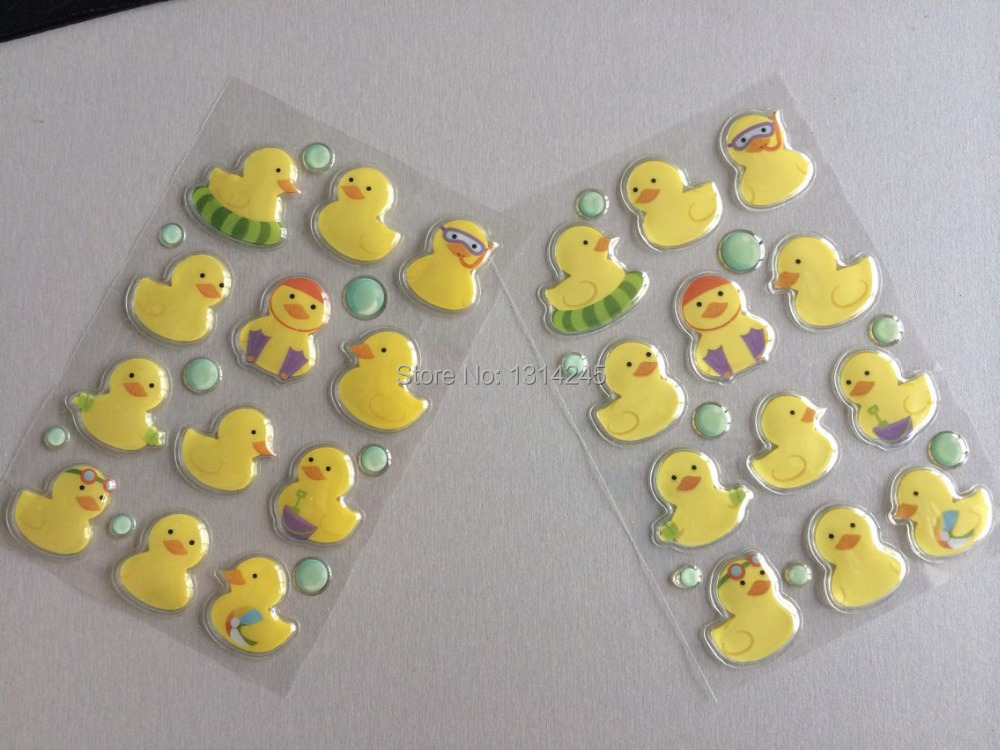 B duck 3d plastic stickers in wall stickers from home garden on aliexpress com alibaba group