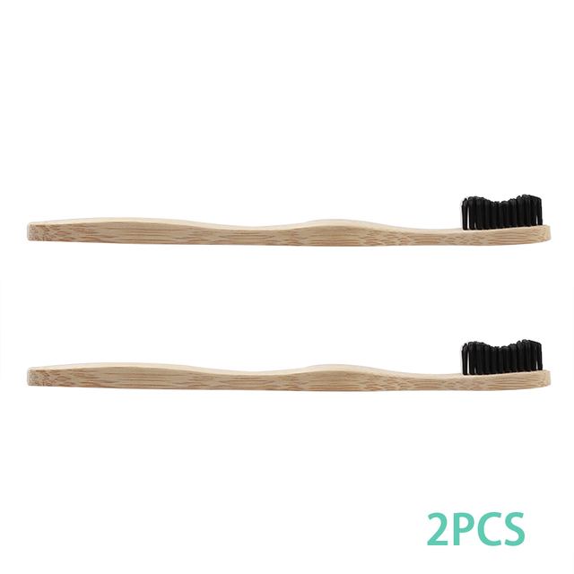 Natural Pure Bamboo Toothbrush Portable Soft Bristles Travel Tooth Brush Eco Friendly Brushes Dental Oral Cleaning Care dropship