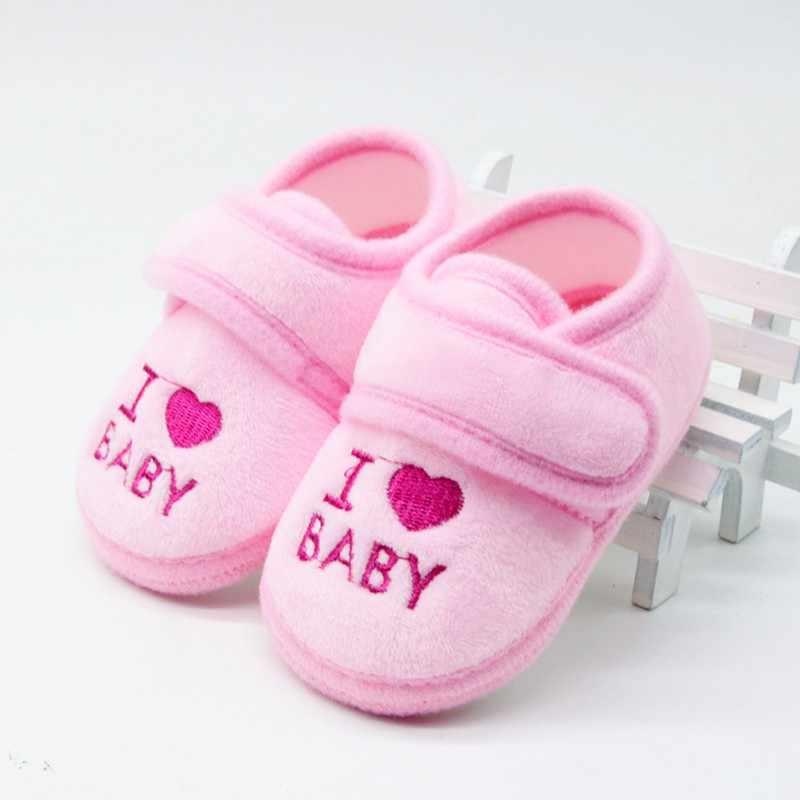 Tanie buty dziecięce czystej bawełny nowonarodzone dziecko dziewczynka chłopiec buty malucha buciki dziecięce mokasyny Sneaker szopka buty dla 0 -18 miesięcy