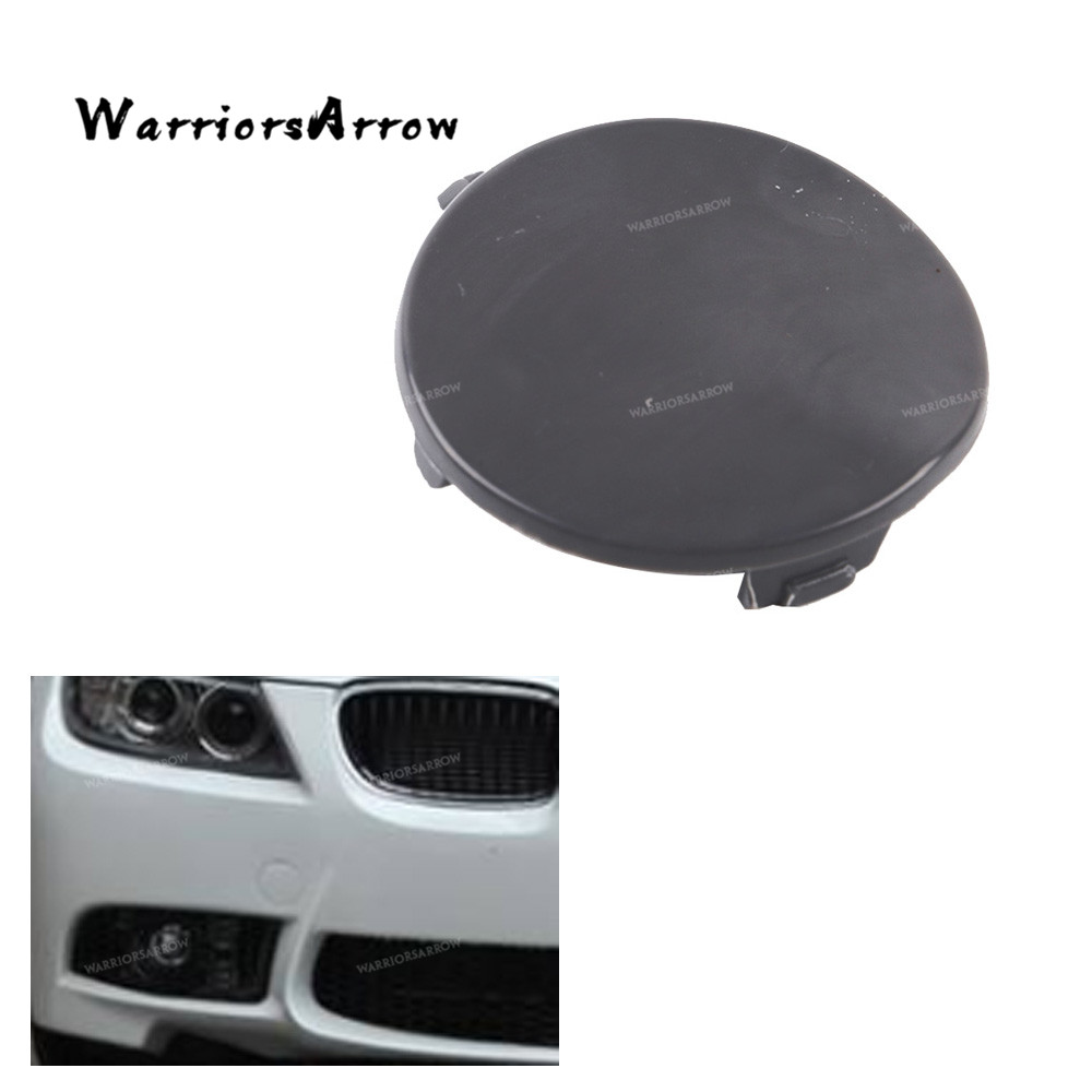 BMW 3 SERIES E90 2005-2009 FRONT BUMPER TOW HOOK COVER CAP PAINTED BY YOUR COLOR