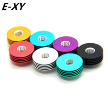 E-XY High quality Metal round Colorful 510 Heat Dissipation Heat Sink mulit colors for 22mm RDA Atomizers Mod