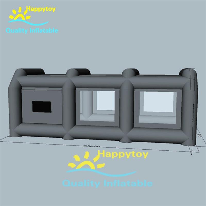 Portable Inflatable Car Cover Shelter Tent Carport Paint ...