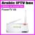 2016 PowerTV X6 Caixa de IPTV Arábica sem Nenhuma taxa anual de assinatura, 500 canais de TV ao vivo Android TV player, frete Grátis!