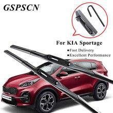 Гибридные щетки стеклоочистителя GSPSCN для KIA Sportage щетка стеклоочистителя для лобового стекла автомобиля набор подходит для крючков модели с 1993 по год