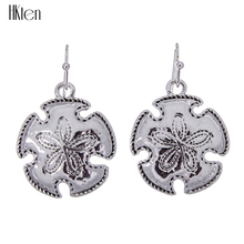 MS1504435 Fashion Jewelry High Quality Senddollar Necklace Earrings  Silver Plated Antique Ocean Animal Design