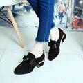 Un Duro Helado Con Arco Bajo Para Ayudar A Los Niños Zapatos Con Hocico Estilo Británico Del Todo-Fósforo Zapatos Pies de Profundidad
