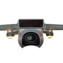 Kamera Lens kapağı kapağı parasoley güneşlik Gimbal koruyucu sabitleyici Guard DJI Spark Drone için yedek parça