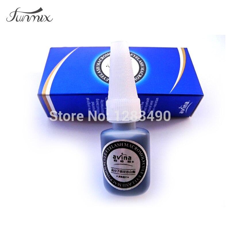 Navina Individual Eyelash Glue Eye Lash Adhesive  Glue Low Order Keep  30days Spuer Stick False Eyelash Extension Glue
