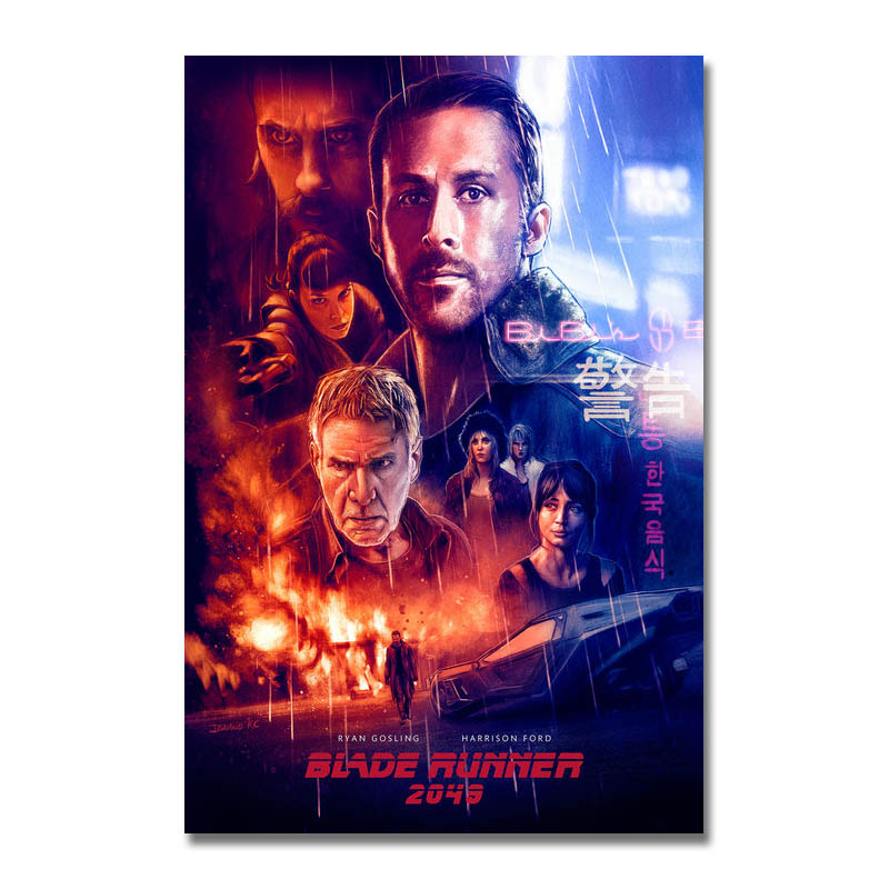 Blade Runner 2049 Movie 2017 Silk Canvas Poster 13x20 24x36 inch
