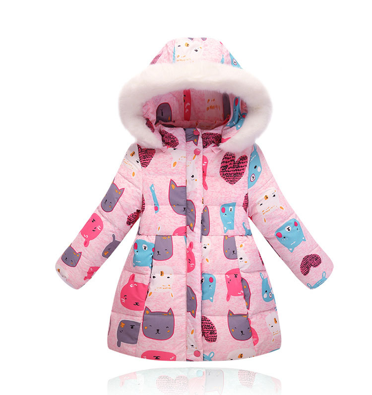 2016 tilki çocuklar kış moda kızlar için kızlar için faux kürk uzun ceket kabanlar palto