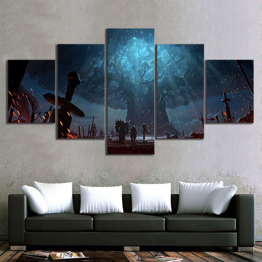 Game, Home, Art, Wall, Warcraft, Decor