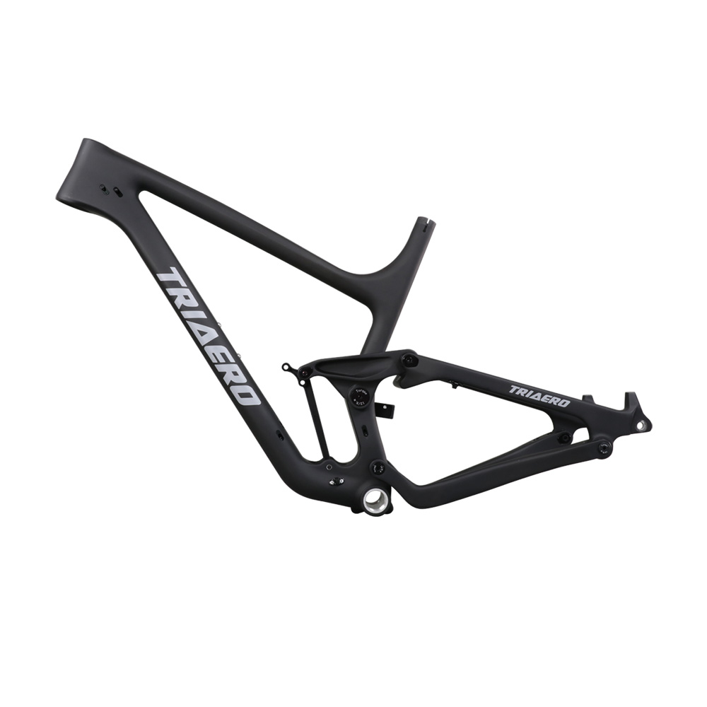 Newest Trail 27.5 Plus Carbon Boost 148mm Dual Suspneison Frame UD Matte Surface BSA Bottom Bracket