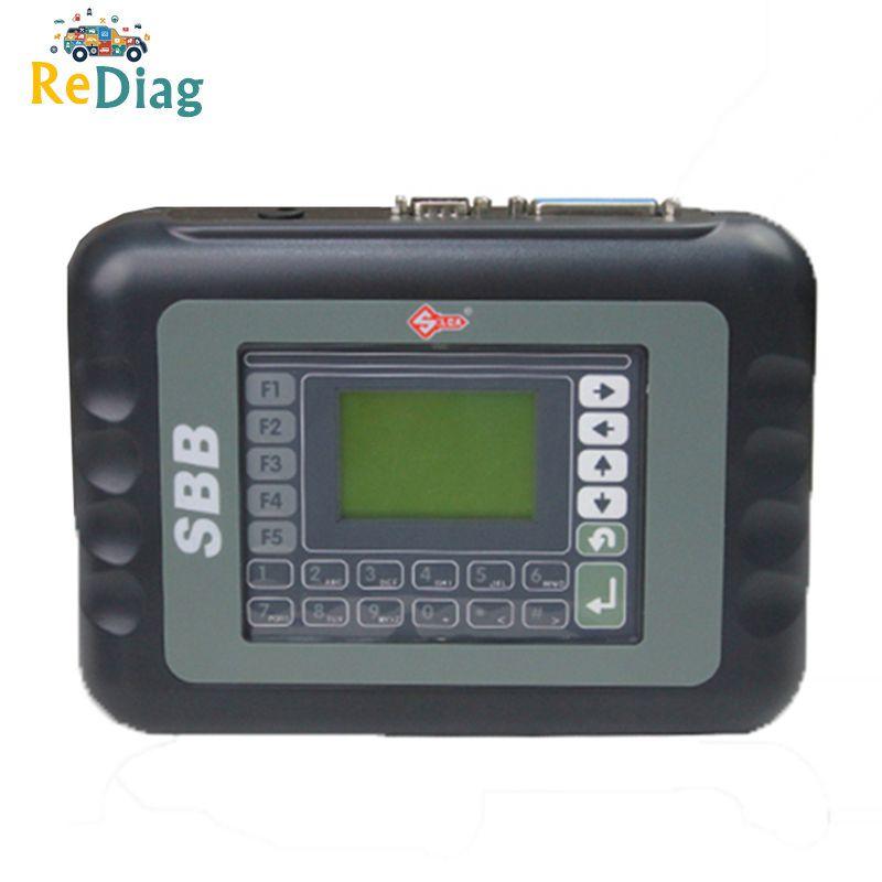 OBD2 Immobilizer Auto Key Programmer Silca SBB V33.02 Universal Key Maker Transponder Key