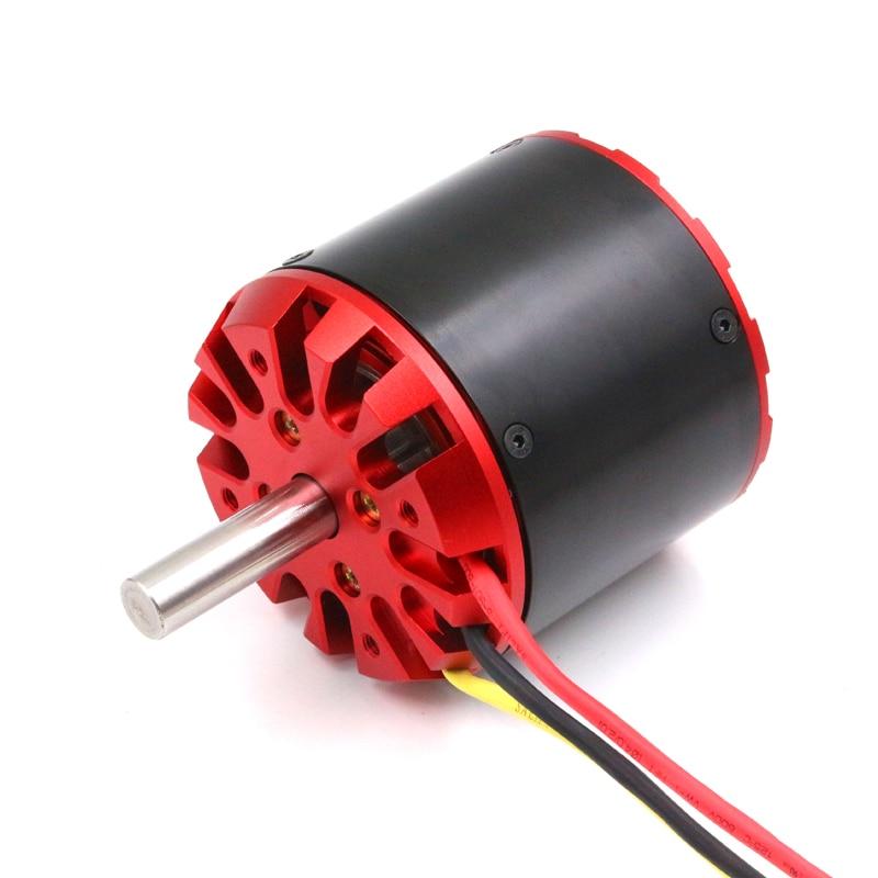 FATJAY BLDC sensorless motor outrunner 22 2 51 8V large 80100 200KV 270KV with hall sensor