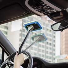 VOTLOP Car Wash Fog Windshield Cleaning Brush Washing Rag Wipe Duster Mop Simple Universal Home Office Auto Windows Glass Cloth