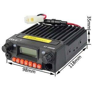 Image 2 - ثلاثي الفرقة راديو المحمول 136 174/240 260/400 480MHz جهاز إرسال واستقبال محمول صغير QYT KT 8900R