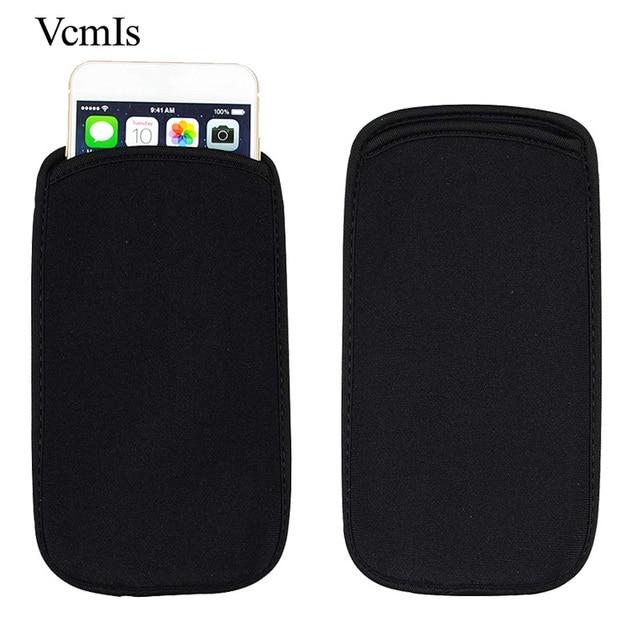 Fashion Universal Elastic Black Sleeve Pouch For lenovo Z5 Pro (GT) Phone Case Neoprene waterproof Bag