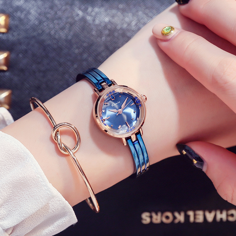 KIMIO New luxury Fashion Women's quartz Dress bracelet watches waterproof stainless steel ladies GOLD wristwatches Female Clock sc32 25 free shipping standard air cylinders valve 32mm bore 50mm stroke sc32 25 single rod double acting pneumatic cylinder