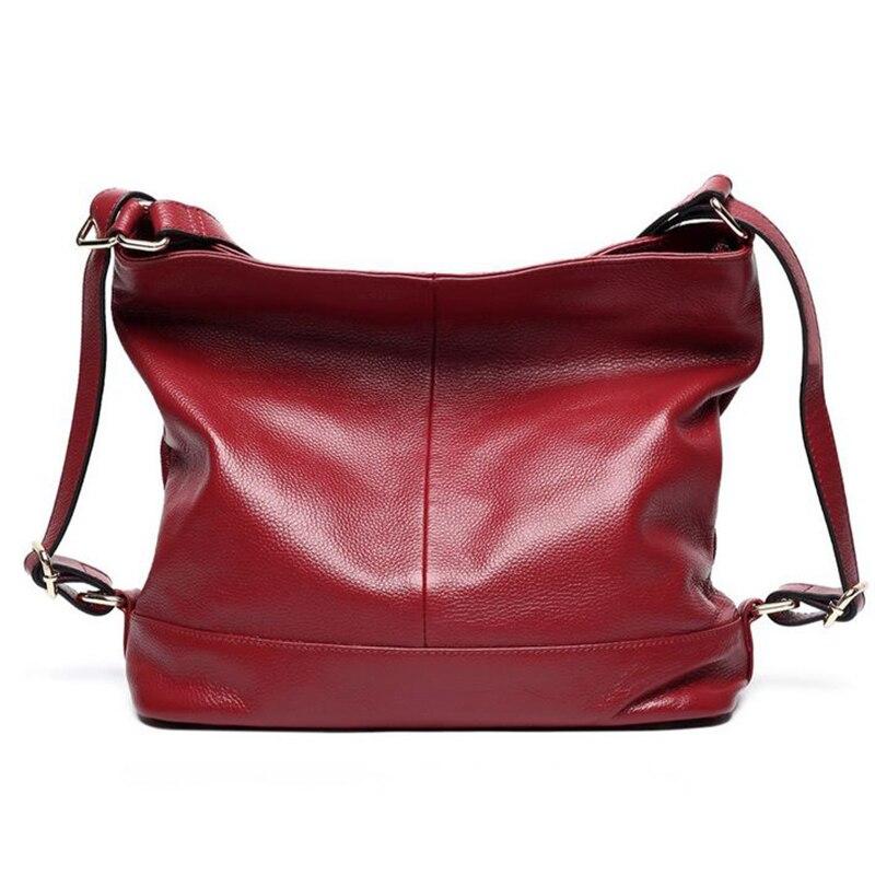 Hot! Genuine Leather Backpack Women Bags Brand Lxury Soft Cowhide Lady Backpacks Girls Leisure Shoulder Bags 2017 Free Shipping hot free shipping 8xl 10xl brand pants leisure