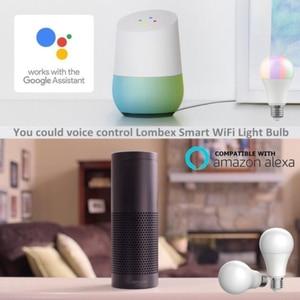Image 5 - E27 WiFi Slimme Lamp RGB LED Lamp 11W Multicolor Dimbare Lamp Voice Control Compatibel met Alexa en Google assistent