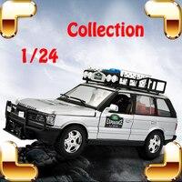هدية عيد rr المعادن نموذج suv مقياس السيارة الرياضية 1/24 كبير جمع اللعب jeep دييكاست سبائك الديكور منفتح لامع