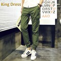 2016 New Promotion Regular Mid Full Length Straight Midweight Flat Broadcloth None Good Quality Men Cotton Rib Casual Long Pants