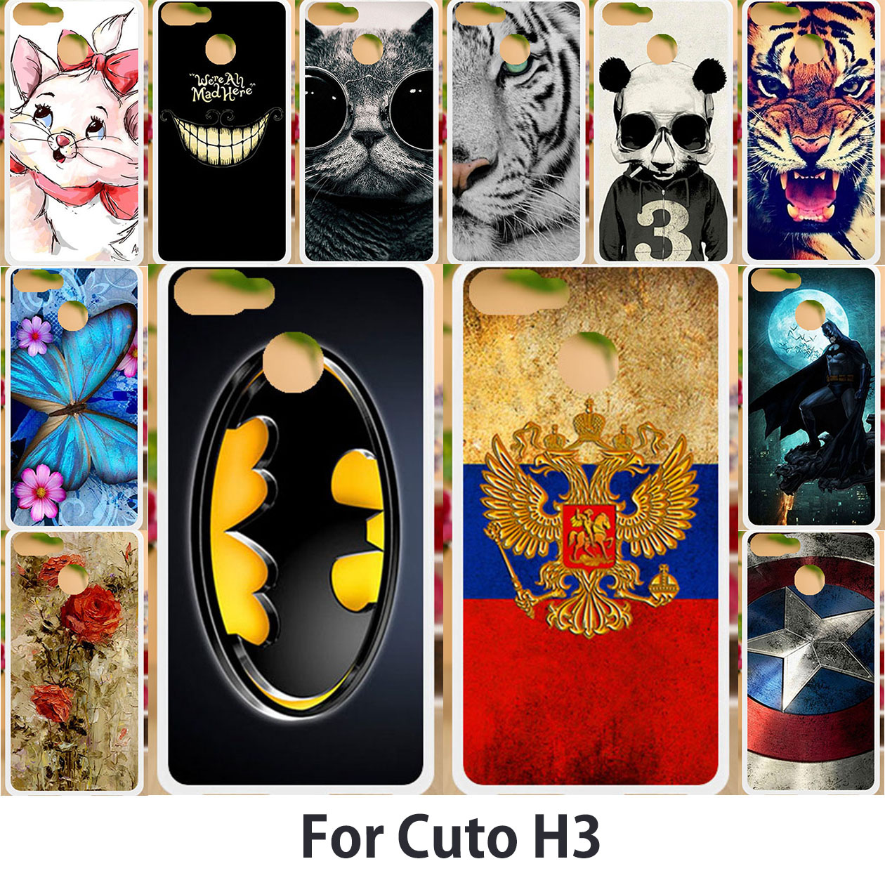 Phone Cases For Cubot H3 Case Cubot Rainbow 2 Cases Cubot R9 R11 X15 X18 Plus Z100 Magic Manito Max H2 Echo Note Plus Covers(China)