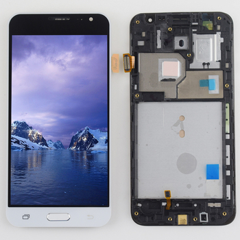 Do Samsung Galaxy J3 2016 J320 wyświetlacz LCD ekran dotykowy Digitizer J320F montaż ramki do Samsung SM j320 J320A J320FN j320M