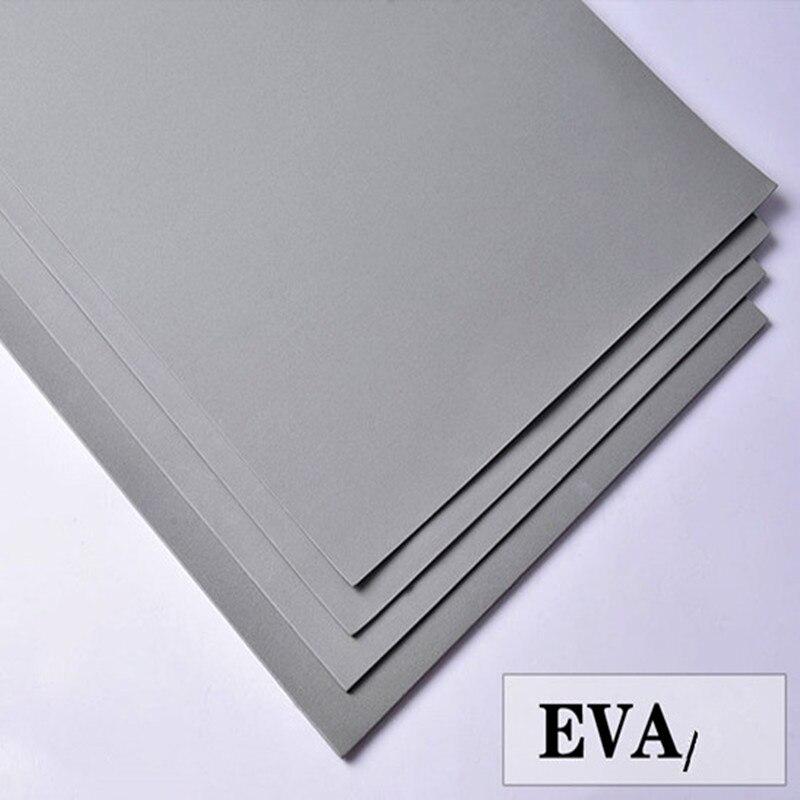 50x200cm cinza cor eva folhas de espuma ofício eva fácil de cortar a folha perfurador feito à mão material cosplay