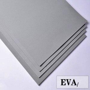 Image 1 - Hojas de espuma Eva de 50x200cm, color gris, láminas de goma eva para manualidades, hoja de perforación fácil de cortar, material de cosplay hecho a mano