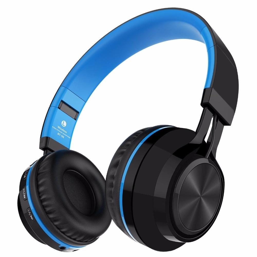 Picun BT 06 Bluetooth Headphones Stereo Wireless Headset