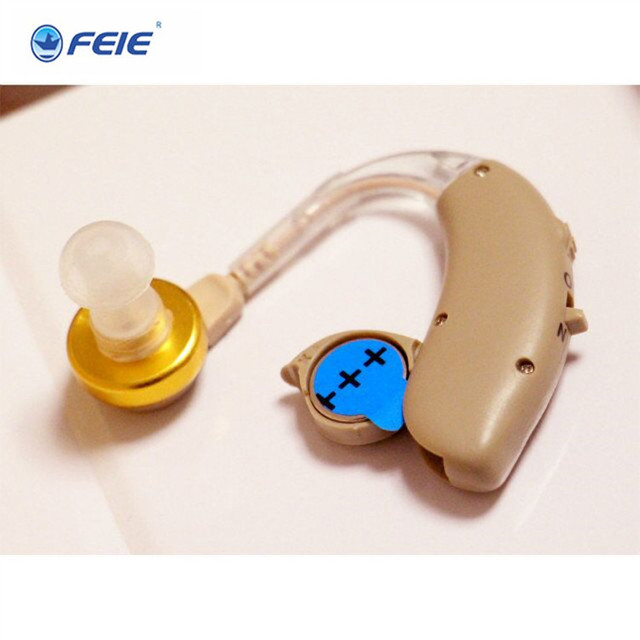 2018 FEIE New arrival Deafness Earphone ears aparats Sound Enhancer Behind ear hearing aid S-137 free shipping