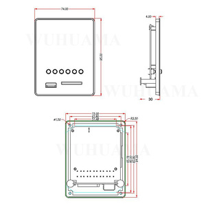 Image 2 - DIY Reproductor MP3 Player TF Card USB Decoder Module DC 12V WAV Lossless Decodering Board Bluetooth Blue LED FM Radio Car KIT