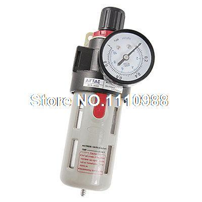 BFR-4000 Air Source Gas Treatment Pressure Regulator 1 4 bfr 2000 air source gas treatment pressure filter regulator model bfr2000 with pressure gauge