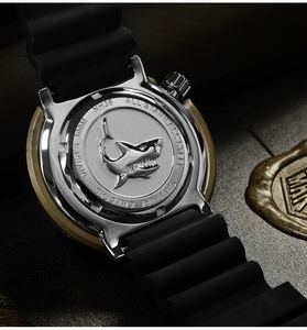 Image 5 - サンマーティン SBBN015 男性腕時計自動ファッションブロンズダイビング腕時計ブロンズ鎧 300 メートル防水 NH36 MOVT 腕時計