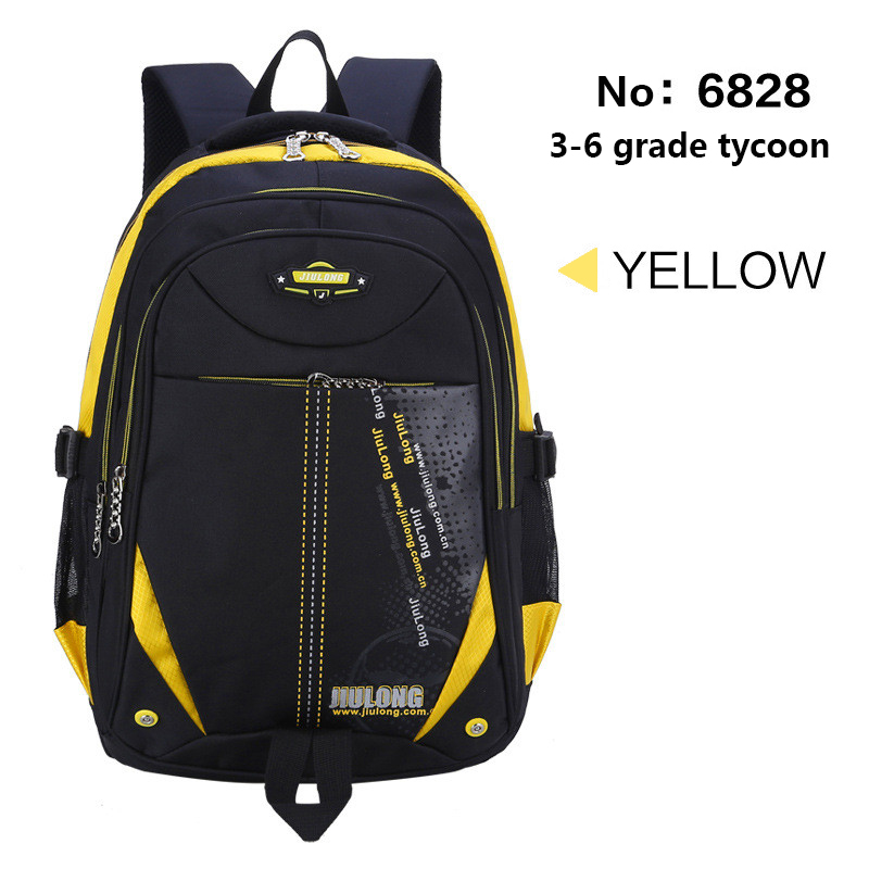 JIULONG School Backpack notbook student backpack for children bags for adolescent girls boy Nylon waterproof large capacity bags adolescent