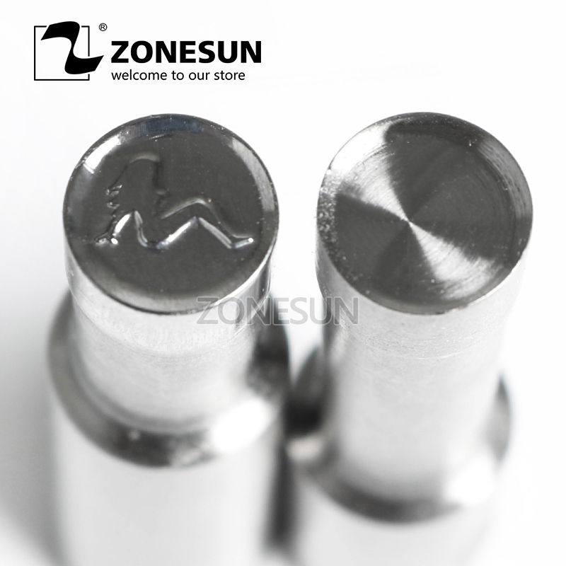 ZONESUN Woman Single Tablet Punch Mould Press Steel Custom Hole Stamp Die Milk Tablet Die Logo For TDP0 1.5 3 5 Machine цена