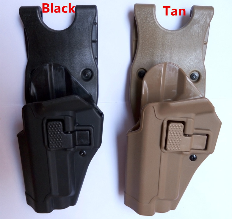 BlackHawk Style Serpa Military Army Tactical belt holster fits for SIG P220 P226 226 Polymer material