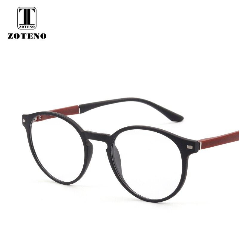 TR90 Women Round Glasses Frame Rivet Oliver Peoples Optical Prescription Computer Myopia Transparent glasses clear Men #88003