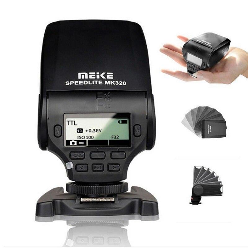 Meike mk-320 mk320 ttl flash speedlite pour sony a7 a7r a7 ii a7s a5000 a6000 nex-5r nex-t nex