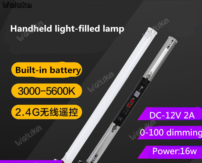 Falconeyes LED Photographic Lamp Film And Television Light Tube Lamp Handheld Camera Lamp To Fill Out The Light LB-16 CD50 T03