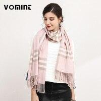 Vomint New Winter Scarfs 2017 Brand Fashion Lady Plaid Checked Scarf Tartan Blanket Wrap Shawl Pashmina