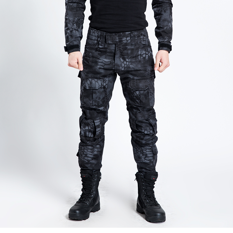 ФОТО Camouflage Tactical Military Clothing Paintball Army Cargopants Combat Trousers Multicam Militar Tactical Pants