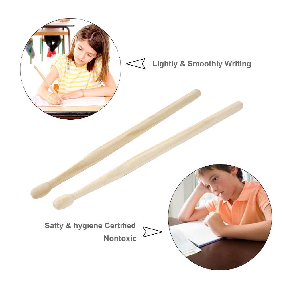 Wood Drumsticks Pencil 2